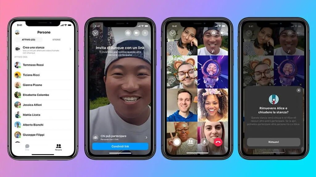 Messenger Rooms: come funziona il nuovo servizio di Facebook