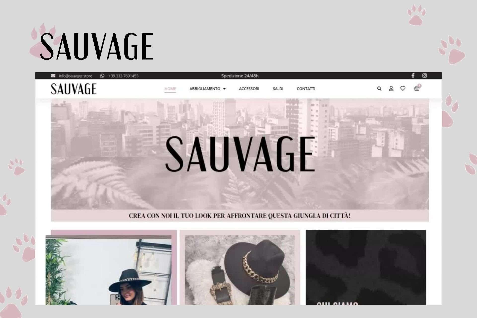 Portfolio Sauvage Stweb