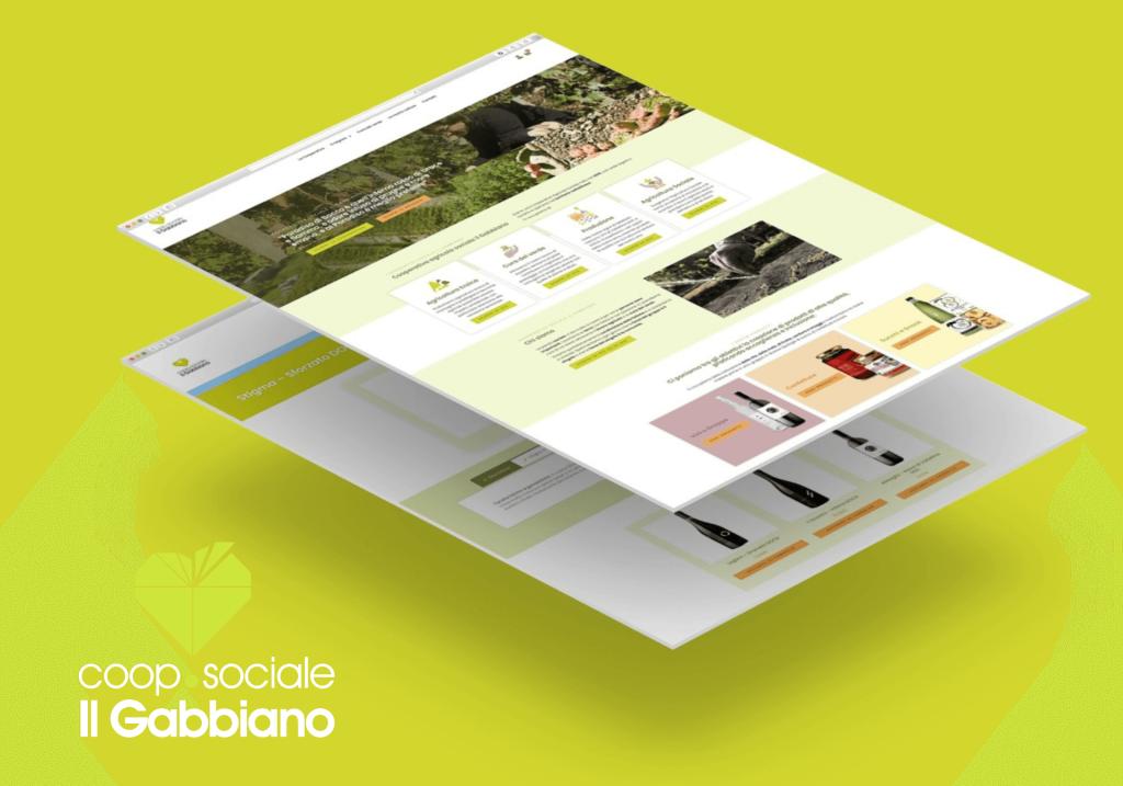Coop Sociale - Il Gabbiano - portfolio STWEB