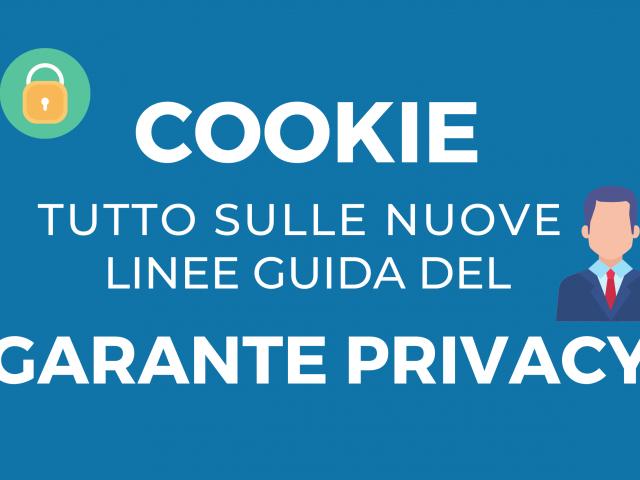 Tutto sulle nuove linee guida garante privacy - Stweb